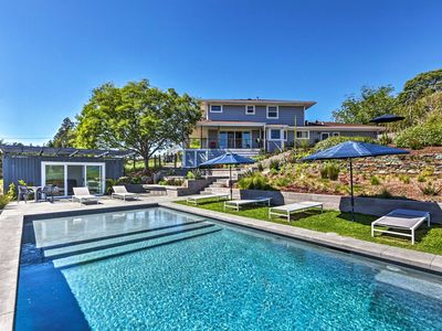 Photo for NEW! Luxurious West Sonoma Home on 2 Acres w/Pool!