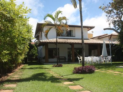 Photo for Guarajuba house 5 bedrooms, charming, great for families !!