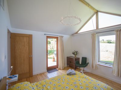 Photo for Contemporary cottage for 2 people (plus baby) in rural setting near to Falmouth