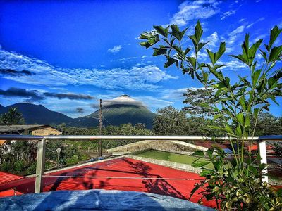 Photo for Comfortable & Cozy House / Volcano View-A / C-Wi-Fi / parking
