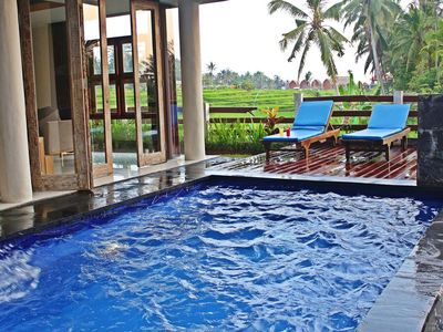 Photo for Private Two Bedroom Ricefields View Villa Ubud