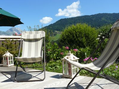 Photo for TRADITIONAL CHALET SAVOYARD OF 160 M2 WITH GARDEN AND SWIMMING POOL SUMMER