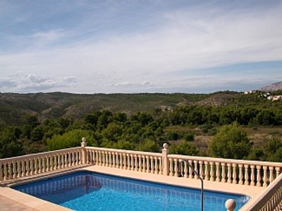 Photo for Villa with private pool, large gardens and stunning views FREE WIFI