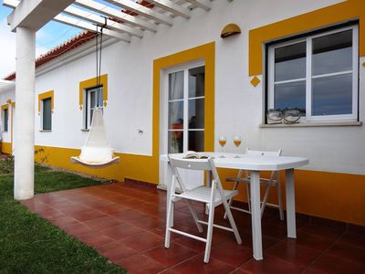 Photo for In a tourist resort with 2 hectares at Santo André, Alentejo coast, surrounded by pine forest