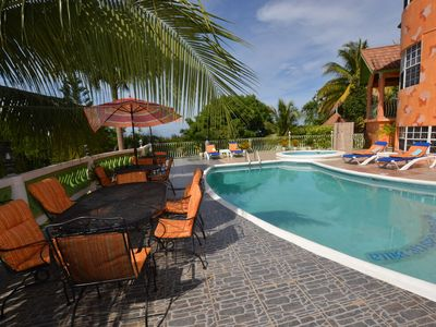 Photo for LARGE MANSION! FAMILY REUNIONS! WEDDINGS! Dream Castle Villa, Montego Bay 6BR