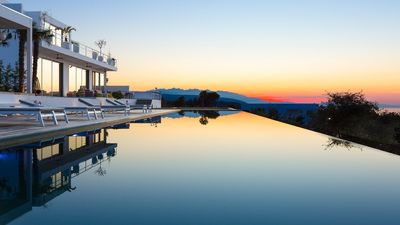 Photo for An exclusive fully staffed private villa-resort overlooking the Cretan sea!
