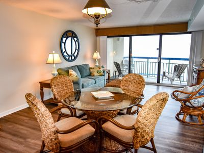 Photo for Beautiful and Immaculate Updated Direct Oceanfront Condo in Cherry Grove.