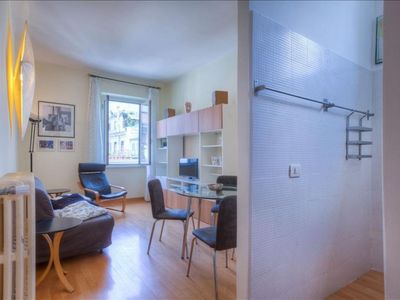 Photo for Penna apartment in Piazza di Spagna North with WiFi, integrated air conditioning & private terrace.