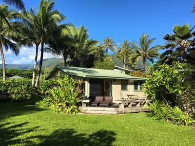 Photo for Hawaiian Paradise Cottage - Just steps to the ocean!