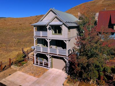 Photo for Luxury Modern Home, Views, Hot Tub, Best Location in CB