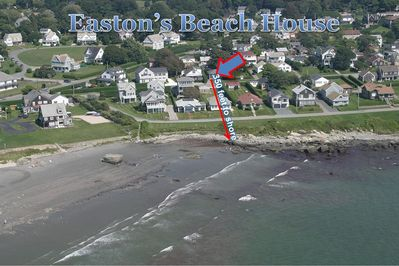 proximity of house to beach
