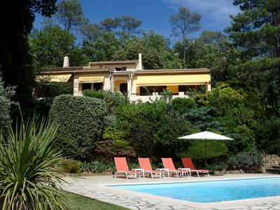 Photo for Villa Les Breguieres: A Rustic, Peaceful Haven With Pool And Panoramic Views