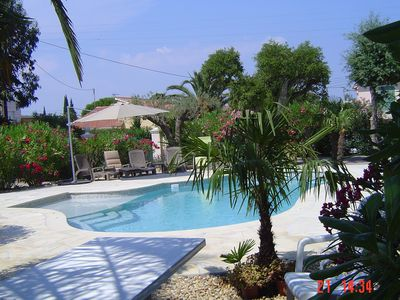 Photo for APART. (in VILLA) 4 rooms + TERRACE - *** - 6 people - SWIMMING POOL.- Garden -