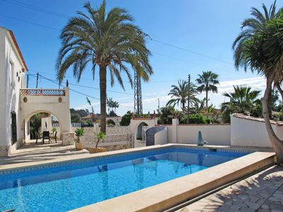 Photo for 3 bedroom Villa, sleeps 6 in L'Albir with Pool and WiFi