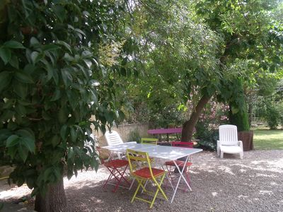 Photo for Small independent house full of charm in Alpilles village