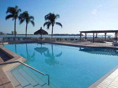 Photo for beautiful 6th floor condo on tropical Isla del Sol