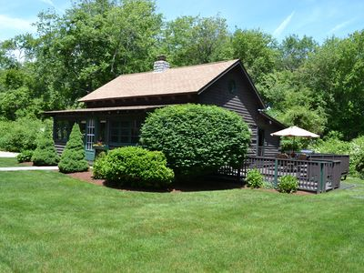 Photo for Cabin by the Sea - Newly Renovated Log Cabin Near the Beach - Private Location