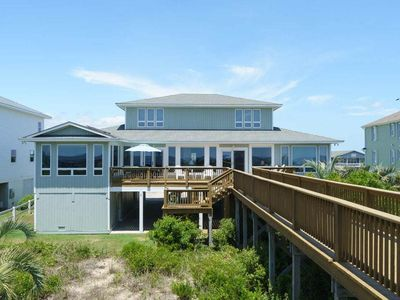 Photo for 6 Bed/4.5 Bath Well Appointed Caswell Beach Rental with Dune Top Deck and Gourmet Kitchen