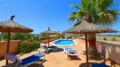 Photo for Casa Joana - Large Countryside Villa with Air Conditioning and Private Pool just 15 minutes from some of the Best Beaches in Mallorca! - Free WiFi