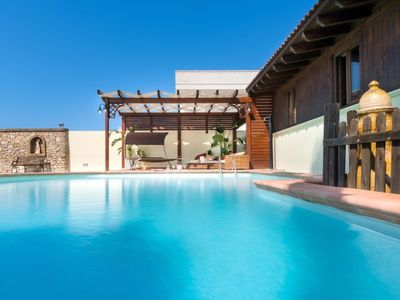Photo for Vacation home Pool chalet - LE07508591000002986 in Taviano - 9 persons, 3 bedrooms