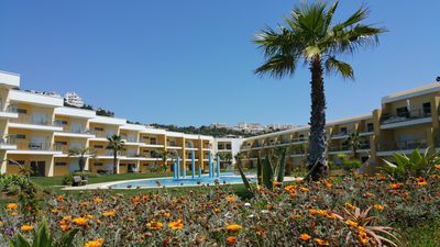 Photo for Magnificent new apartment in Albufeira that can accommodate 4 to 6 people