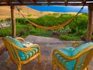 Relaxation options on lanai in front of 2nd bedroom
