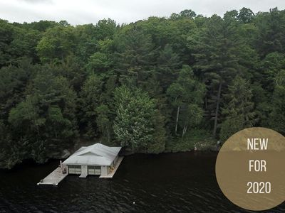 Photo for Traditional Muskoka Beauty 4Bed, 3Bath Cottage & Bunkie on Lake Rosseau!