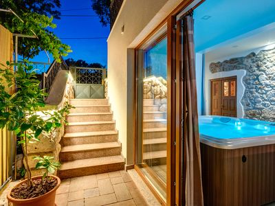 Photo for HOUSE VALENTINA NEW renovated cottage in a quiet area, with jacuzzi