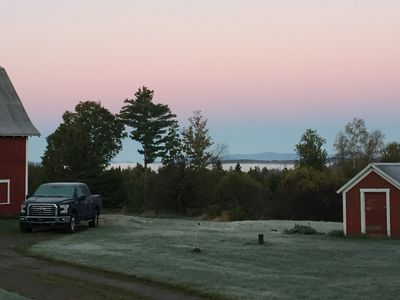 Photo for Working sheep farm, views of Mt. Mansfield, many nearby lakes