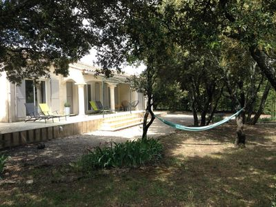 Photo for Quiet villa, comfort and pool near Grignan