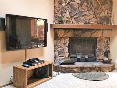 Fireplace TV Living Room