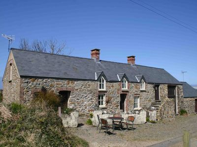 Photo for Shicley Cottage - Traditional stone cottage on the coast path with sea views