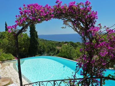 Photo for Offer 22/06 to 6/07 Beautiful villa with sea views and