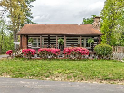 Photo for 84 year old log cabin located in golf capital of US