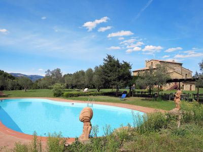 Photo for 9 bedroom Villa, sleeps 22 in San Quirico with Pool and WiFi