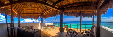 Photo for Simply Akumal's Best!  Luxury Beachfront Penthouse w/Infinity Pool, Rooftop...