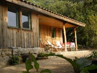 Lovely and comfortable individual chalet in beautiful rural location.