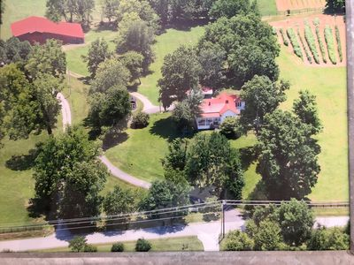 Aerial View of Liberty Farm