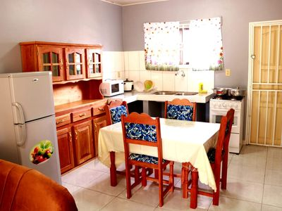 Photo for Quiet and family friendly apartment ideal for family with children and groups