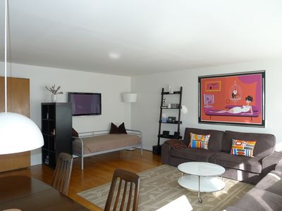 Photo for Large Capitol Hill Apt -Fantastic in-city Pad -3 mins walk to light-rail station