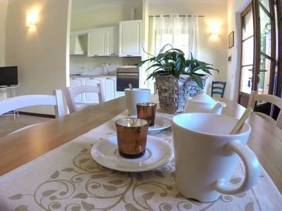 Photo for CASALE LA FATA, FAUNA, comfortable apartment in Casale Toscano with swimming pool