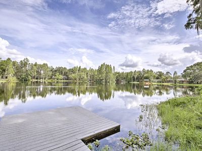 Photo for Cozy Lutz Home on Lake Thomas w/ Private Dock!