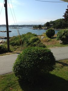 View from porch looking to the right