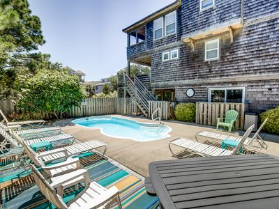 Photo for Sandy Feet | 1250 ft from the beach | Private Pool, Hot Tub