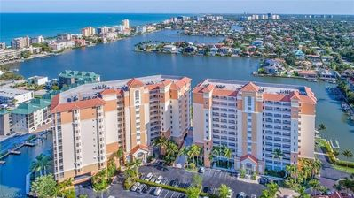 Photo for Gorgeous 3 Bedroom Waterside Condo with Huge Private Sun Deck!