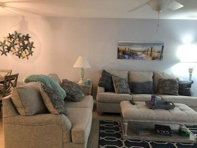 Photo for Gorgeous coastal themed 2/2 condo with beautiful views overlooking the pond.OW11-506