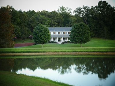 Photo for An upscale family farmhouse just minutes from Nashville. Great for large groups.