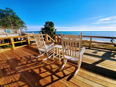 Gulf Front Duplex-Secluded Beach-Community Pool-Tennis Courts-Fishing Pier