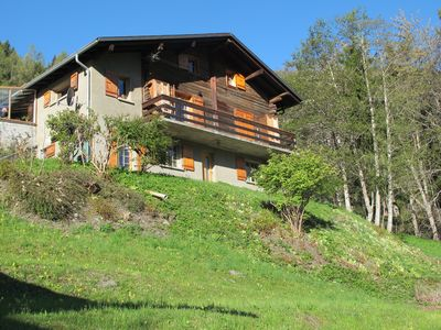 Photo for VERBIER / BRUSON Chalet Apartment full of charms under the roof with terrace