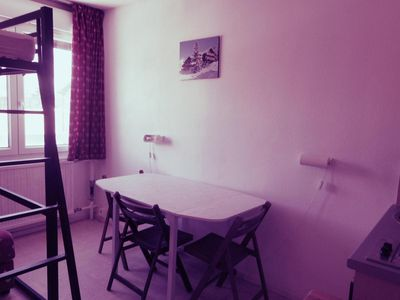 Photo for Surface area : about 17 m². 4th floor. Orientation : North. View valley